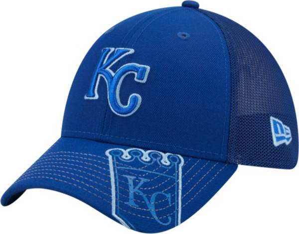 New Era Youth Kansas City Royals Blue 39Thirty Stretch Fit Hat product image