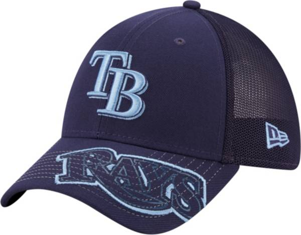 New Era Youth Tampa Bay Rays Navy 39Thirty Stretch Fit Hat product image