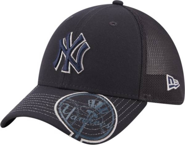 New Era Youth New York Yankees Navy 39Thirty Stretch Fit Hat product image