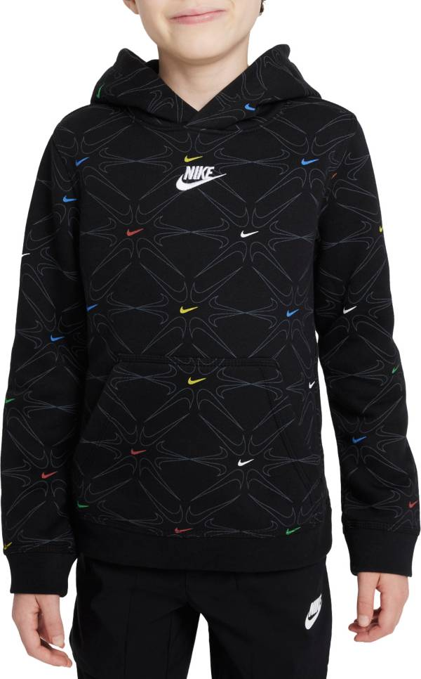 Nike Boys' Sportswear Club Fleece BB All Over Print Pullover Hoodie product image