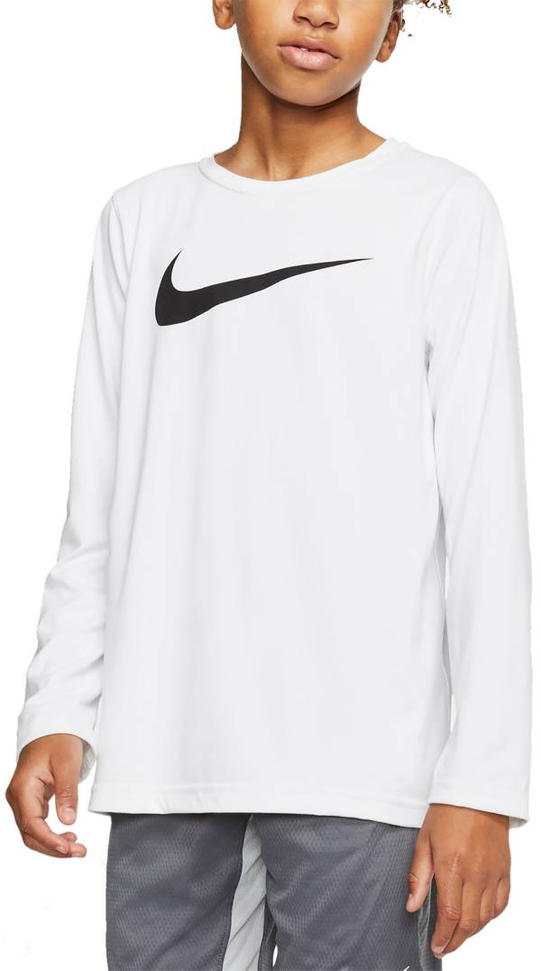 Nike Boys' Dri-FIT Legend Long Sleeve Training T-Shirt product image