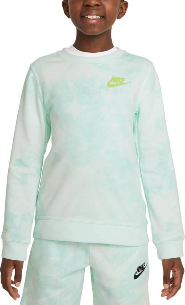 Nike Boys' Sportswear Magic Club Tie Dye Crewneck Sweatshirt product image