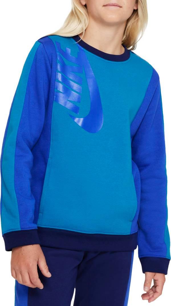 Nike Boys' Sportswear Amplify Fleece Sweatshirt product image