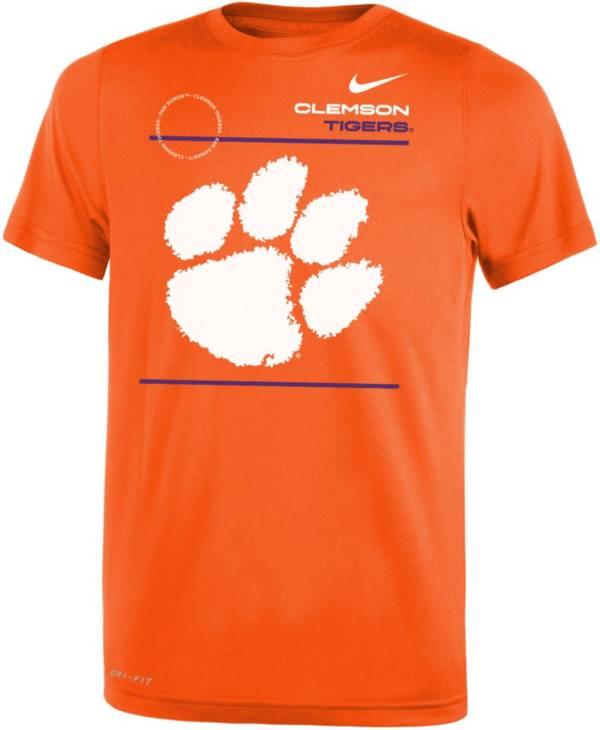 Nike Youth Clemson Tigers Orange Dri-FIT Legend T-Shirt product image