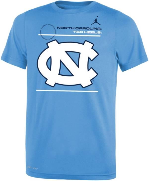 Jordan Youth North Carolina Tar Heels Carolina Blue Dri-FIT Legend T-Shirt product image