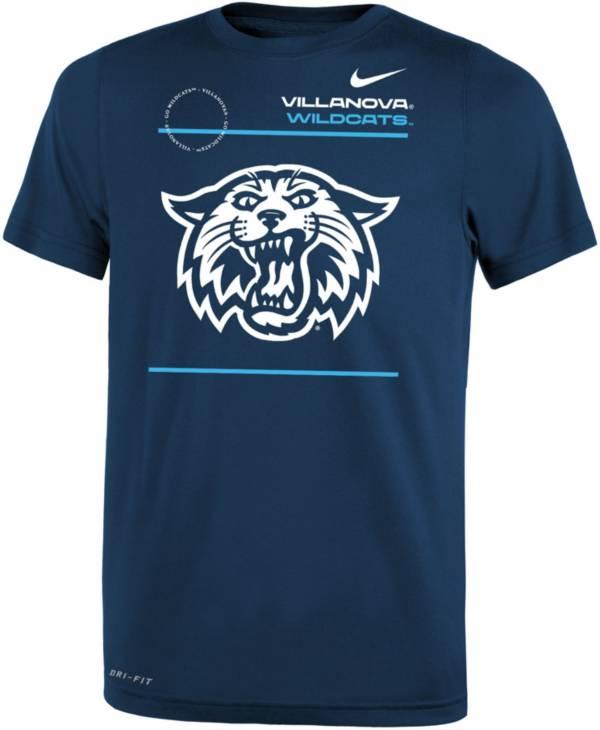 Nike Youth Villanova Wildcats Navy Dri-FIT Legend T-Shirt product image