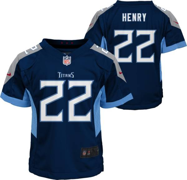 Nike Little Kid's Tennessee Titans Derrick Henry #22 Navy Game Jersey product image