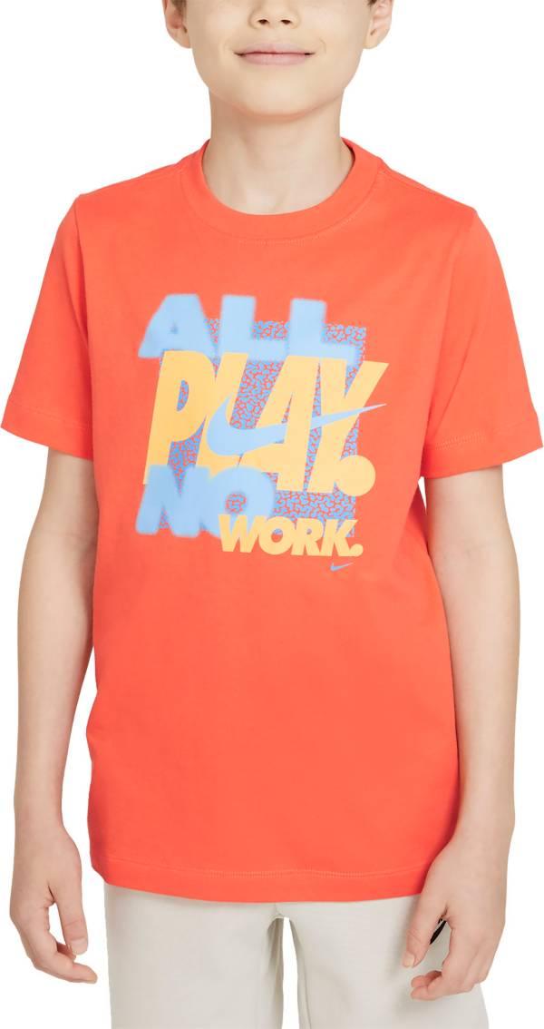 Nike Boys' Sportswear All Play No Work T-Shirt product image