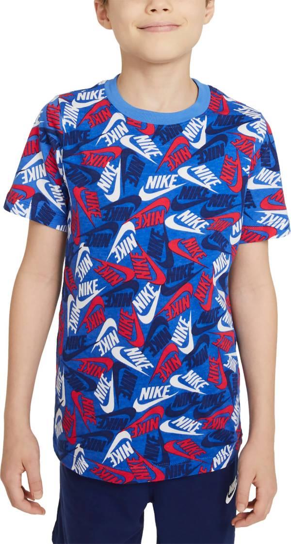 Nike Boys' Sportswear Futura All Over Print T-Shirt product image