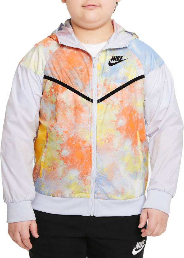 Nike Boys' Sportswear Windrunner Tie-Dye Jacket product image