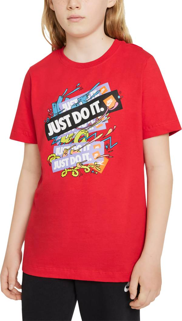 Nike Boys' Sportswear Repeat Just Do It T-Shirt product image