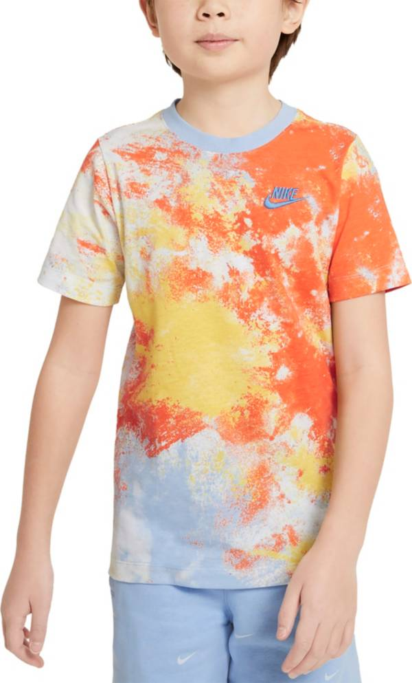Nike Boys' Sportswear Sky Dye All Over Print T-Shirt product image