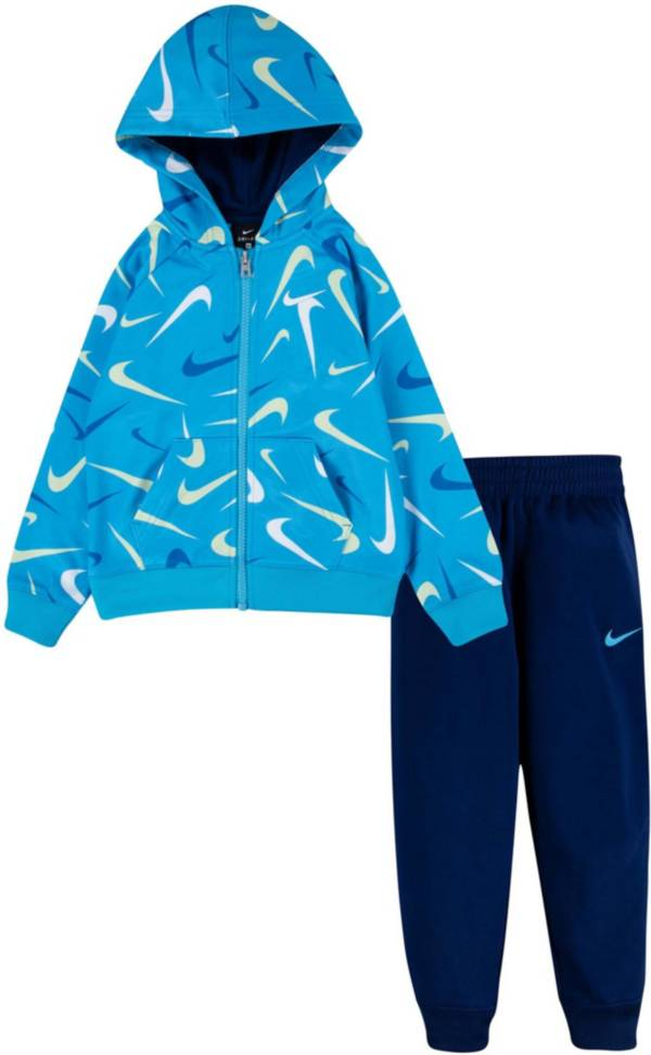 Nike Toddler Boys' Swooshfetti Therma-FIT Hoodie and Pants Set product image