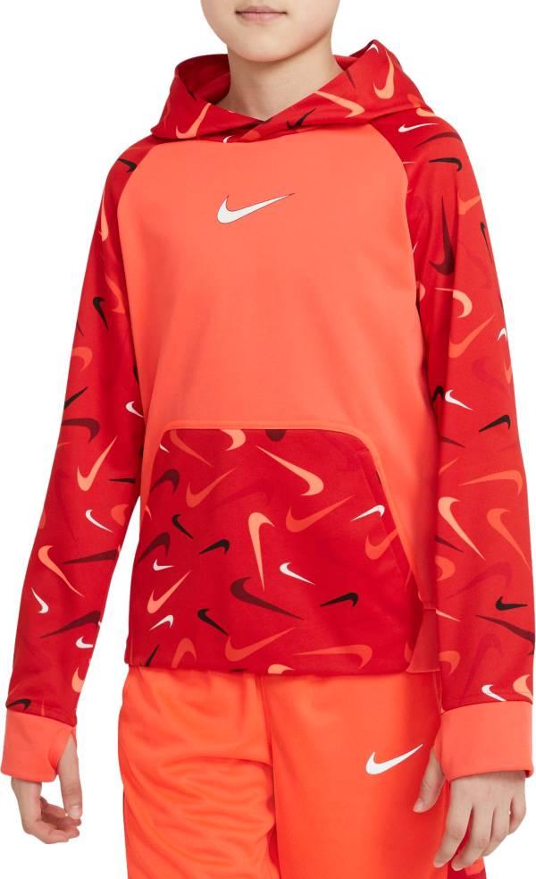 Nike Boys' Therma-FIT Fleece Swooshfetti Training Hoodie product image