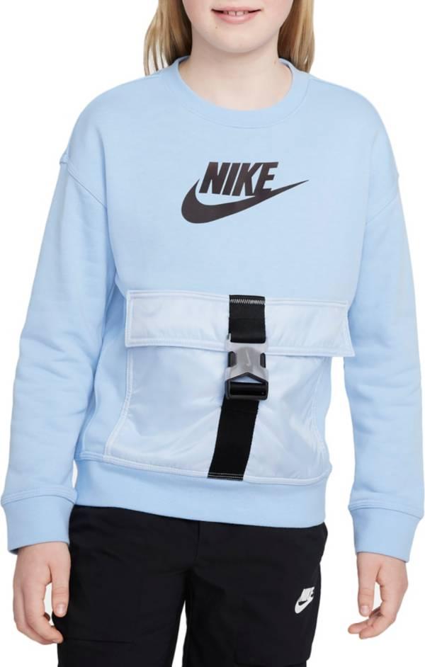 Nike Boys' Sportswear Utility Fleece Crewneck Sweatshirt product image