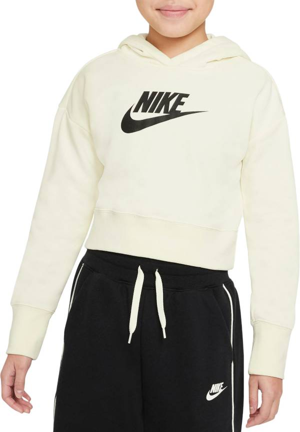 Nike Girls' Sportswear Club French Terry Cropped Hoodie product image