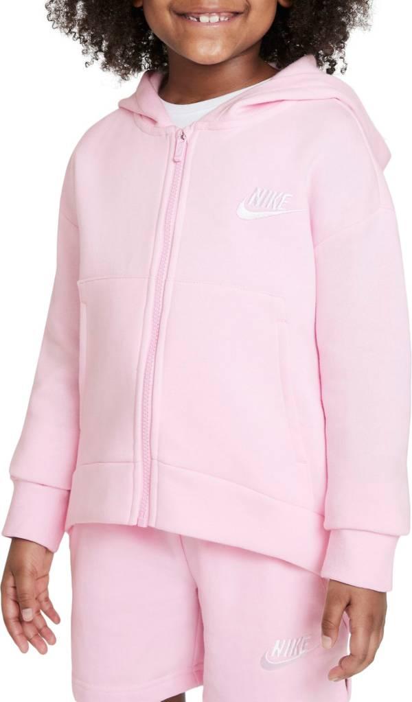Nike Girls' Sportswear Club Fleece Full-Zip Hoodie product image