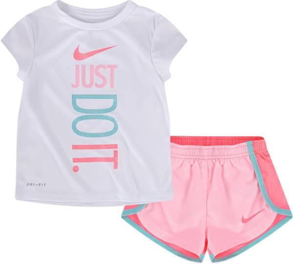 Nike Little Girls' Dri-FIT Logo T-Shirt and Sprinter Shorts Set product image