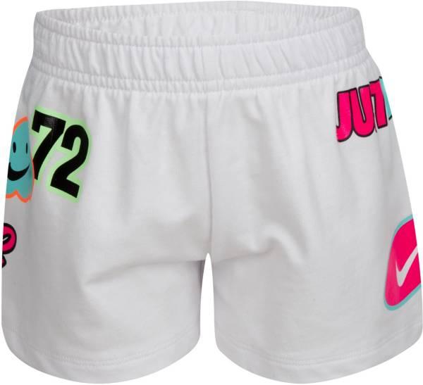 Nike Little Girls' Sportswear Sticker Logo Shorts product image