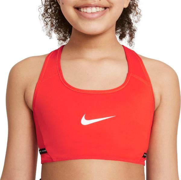 Nike Girls' Dri-FIT Swoosh Monogram Reversible Sports Bra product image