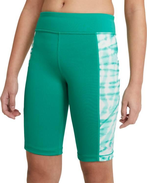 Nike Girls' Trophy Tie-Dye Training Bike Shorts product image