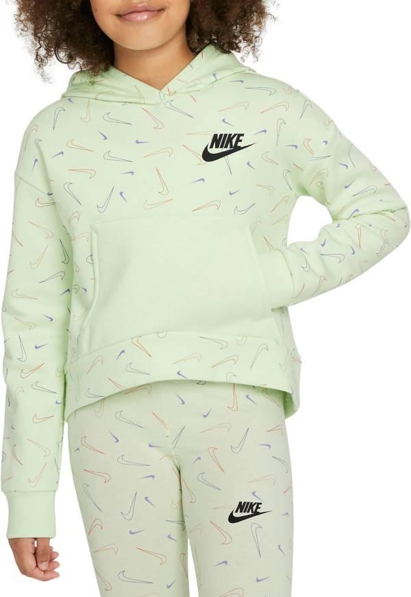 Nike Girls' Sportswear Swooshfetti Club Fleece Hoodie product image