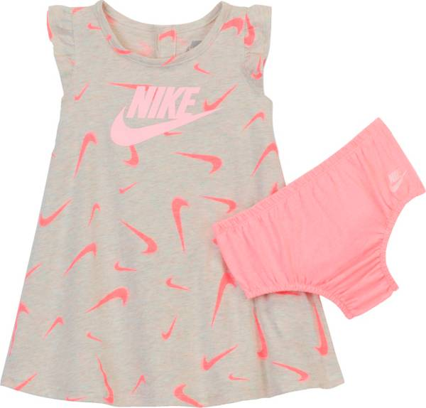 Nike Infant Girls' Swooshfetti Flutter Dress and Diaper Cover Set product image