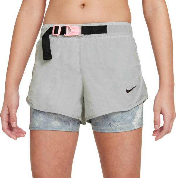 Nike Girls' Tempo Tie-Dye 2-in-1 Running Shorts product image