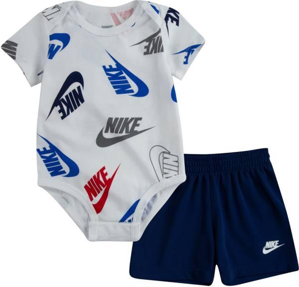 Nike Infant Boys' Futura Printed Bodysuit and Shorts Set product image