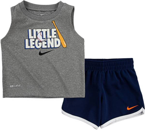 Nike Infant Boys' Little Legend Muscle Tank Top and Shorts Set product image