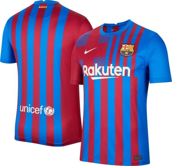Nike Men's FC Barcelona '21 Breathe Stadium Home Replica Jersey product image
