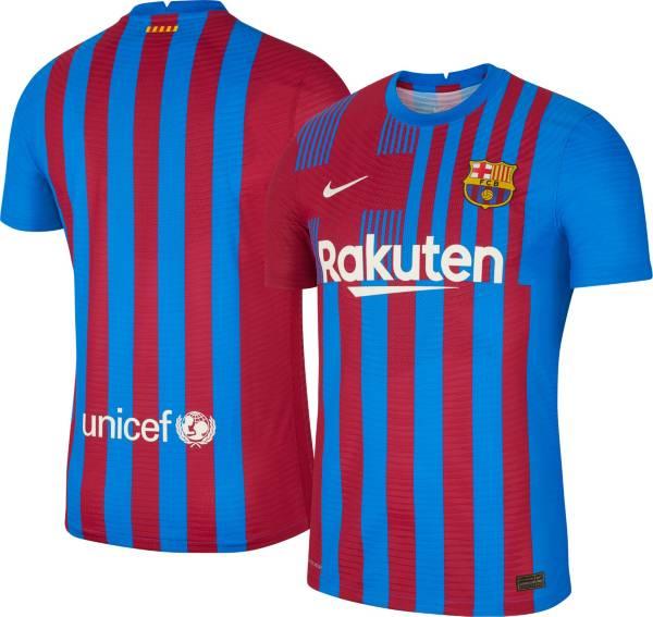 Nike Men's FC Barcelona '21 Vapor Authentic Match Home Jersey product image