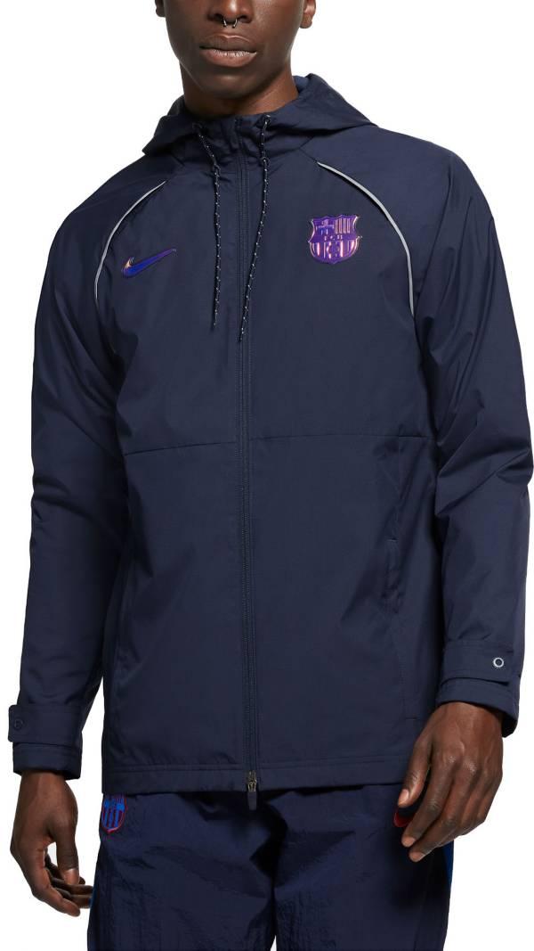 Nike Men's FC Barcelona Black AWF Jacket product image