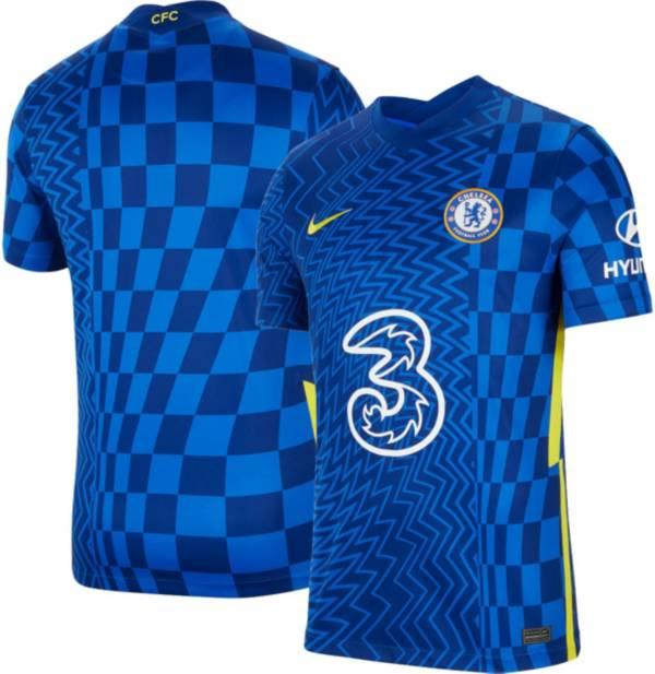 Nike Men's Chelsea FC '21 Breathe Stadium Home Replica Jersey product image