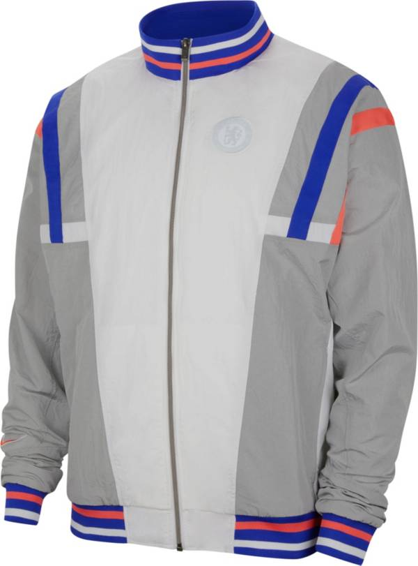 Nike Men's Chelsea FC Air Max NSW White Jacket product image