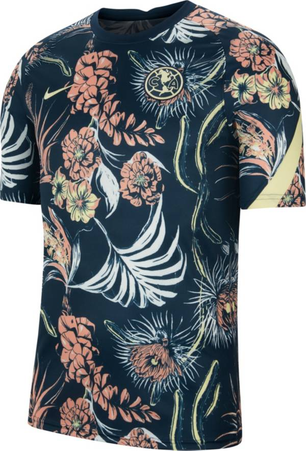 Nike Men's Club America '21 Floral Prematch Jersey product image