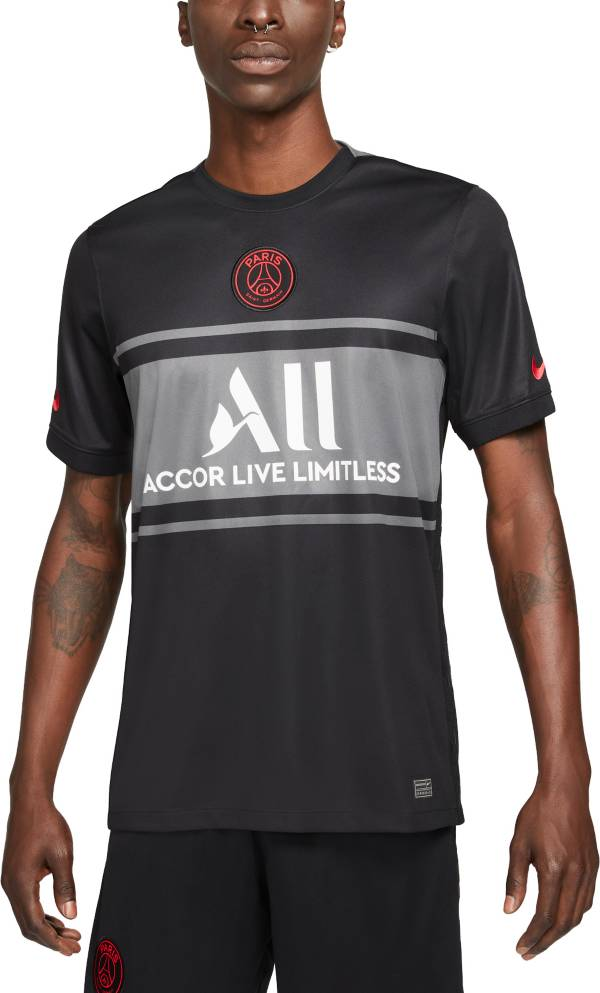 Jordan Men's Paris Saint-Germain '21 Breathe Stadium Third Replica Jersey product image