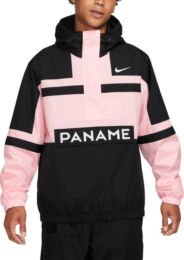 Nike Men's Paris Saint-Germain NSW Black Wind Resistant Jacket product image