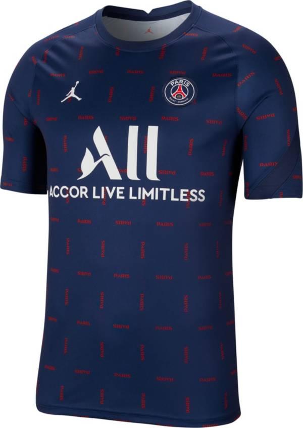 Jordan Men's Paris Saint-Germain Prematch Jersey product image