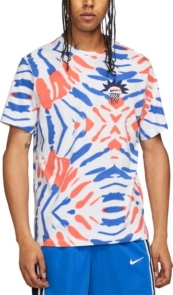 Nike Men's Festival Tie Dye Graphic Basketball T-Shirt product image