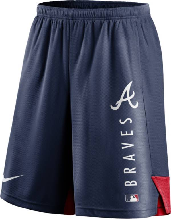 Nike Men's Atlanta Braves Navy Authentic Collection Training Short product image