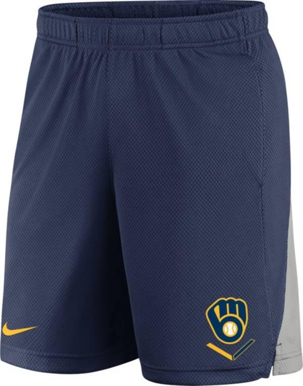 Nike Men's Milwaukee Brewers Franchise Navy Shorts product image