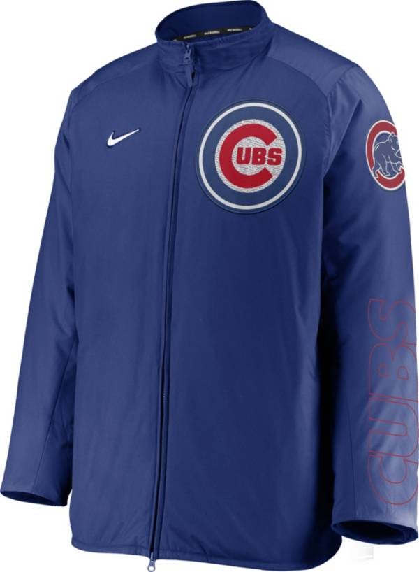Nike Men's Chicago Cubs Blue Authentic Collection Dugout Full-Zip Jacket product image