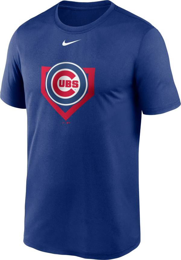 Nike Men's Chicago Cubs Blue Icon T-Shirt product image