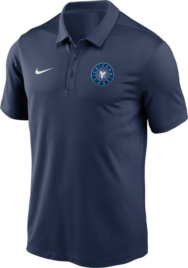 Nike Men's Chicago Cubs Navy 2021 City Connect Franchise Polo product image