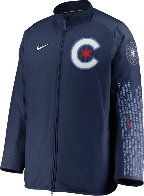 Nike Men's Chicago Cubs Navy Authentic Collection Dugout Full-Zip Jacket product image