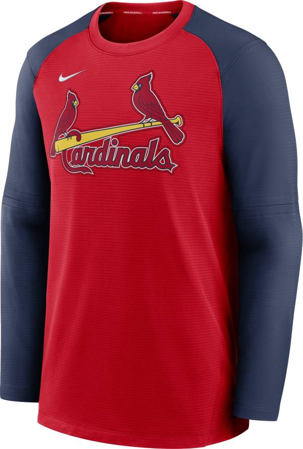 Nike Men's St. Louis Cardinals Red Authentic Collection Pre-Game Long Sleeve T-Shirt product image