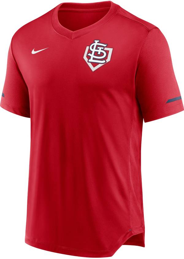 Nike Men's St. Louis Cardinals Navy V-Neck Fashion Top product image