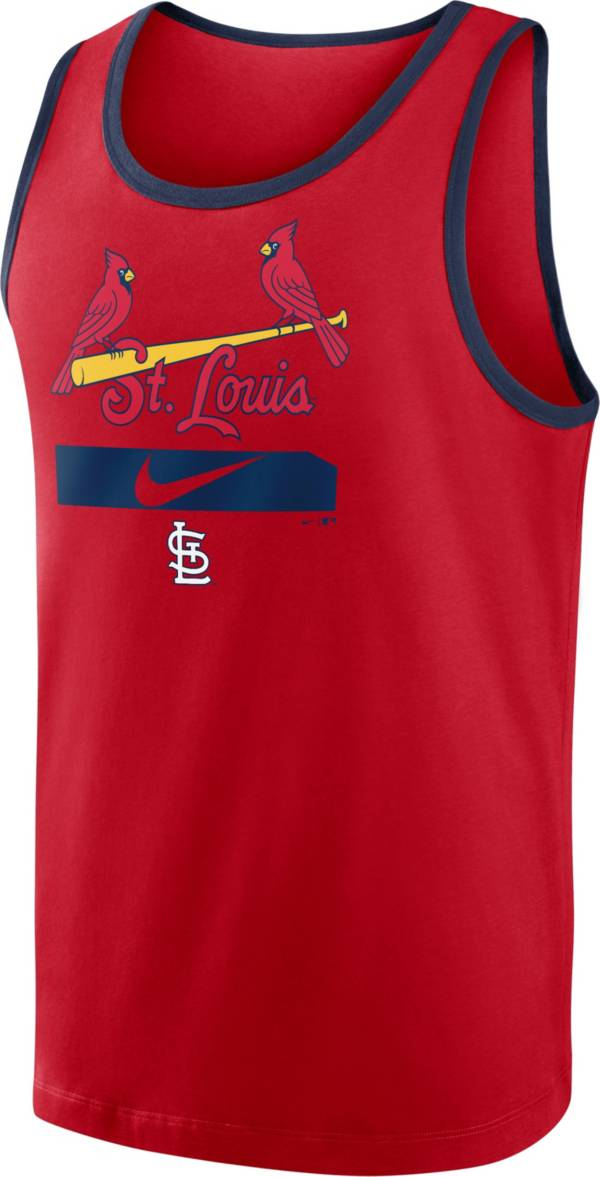 Nike Men's St. Louis Cardinals Red Cotton Tank Top product image