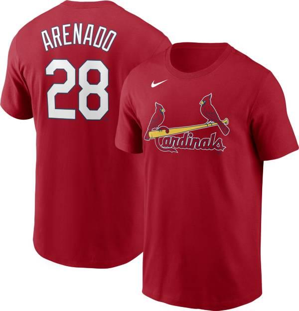 Nike Men's St. Louis Cardinals Nolan Arenado #28 Red T-Shirt product image